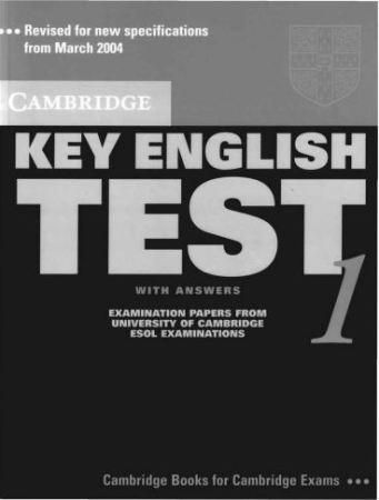 Sách học tiếng Anh KET